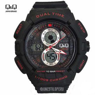 2d2f4c74a869 Reloj hombre Q Q GW81-002 deportivo digital
