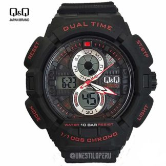 a7f34bfd258c Reloj hombre Q Q GW81-002 deportivo digital